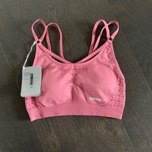 Gymshark Energy Seamless Sports Bra - Dusty Rose